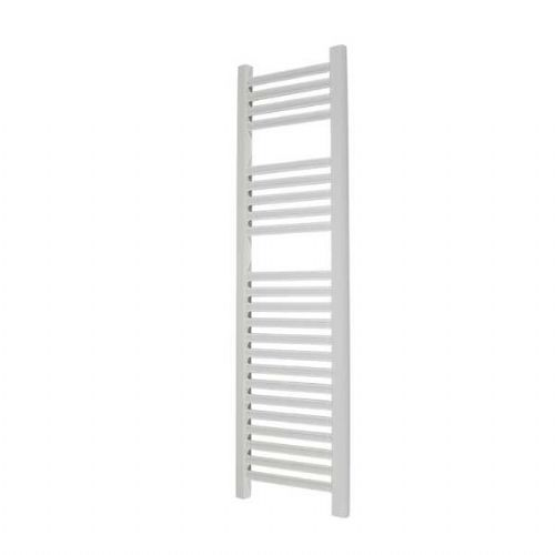 Abacus Elegance Linea Straight Towel Rail - 1120mm x 300mm - White
